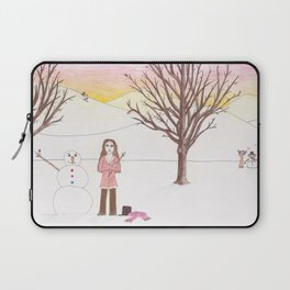 Why Aren't You Here Laptop Sleeve