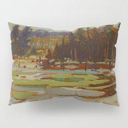 Tom Thomson Portage, Ragged Lake 1917 Canadian Landscape Artist Pillow Sham