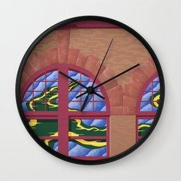 Avery Block Wall Clock