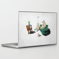 sheep Laptop & iPad Skins featuring Sheep by rob art | illustration