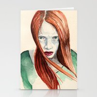 ginger Stationery Cards featuring Ginger by Roxie Emm
