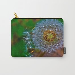 Golden dandelion seeds  Carry-All Pouch