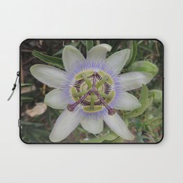 Passion Flower Blossom Laptop Sleeve