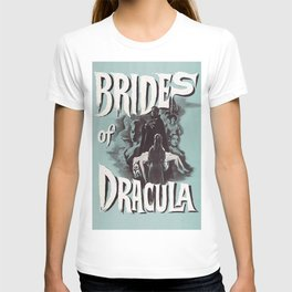 Brides of Dracula, vintage horror movie poster T-shirt
