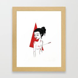 U are killing me Framed Art Print