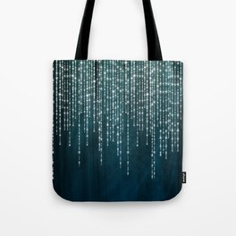 Lace and Lights Tote Bag
