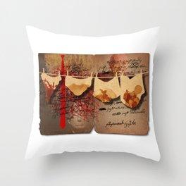 Lev Parnas' Diary Throw Pillow