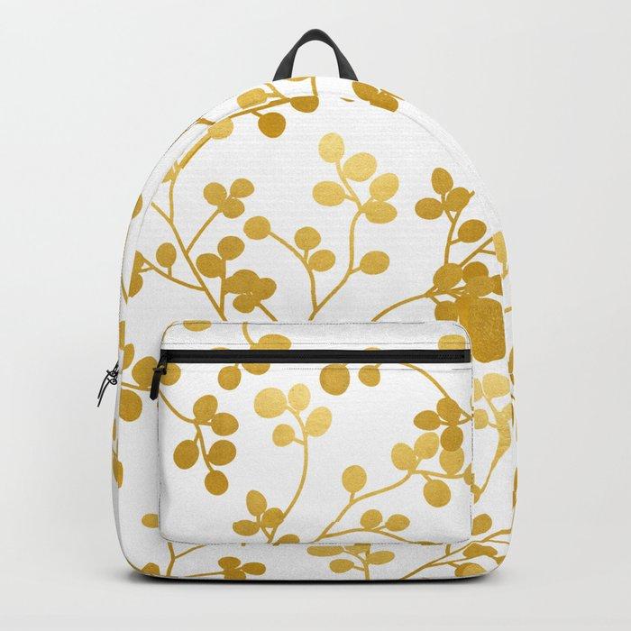 Golden Vines #society6 #decor #buyart Backpack
