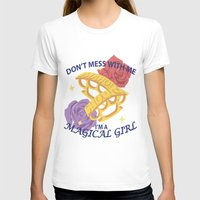 magical girl T-shirts featuring Magical Girl by ToppledCards Designs