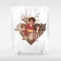 marauders Shower Curtains featuring The Marauders by Susanne