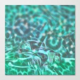 Underwater wreck Canvas Print