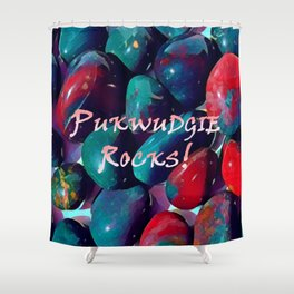 Bloodstone for a Pukwudgie Shower Curtain
