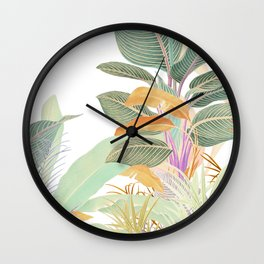 Native Jungle Wall Clock