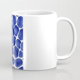 Hibiscus Animal: China Blue Coffee Mug