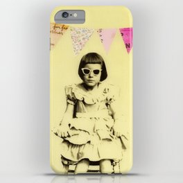 """Partially Amused"" iPhone Case"