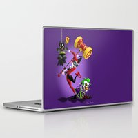 harley Laptop & iPad Skins featuring Harley Quinn by The Art of Eileen Marie