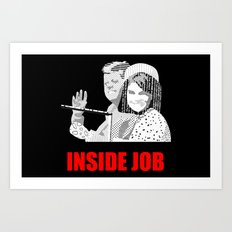 JFK Assassination: Inside Job! Art Print