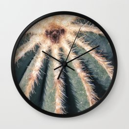 The Cactus Wall Clock