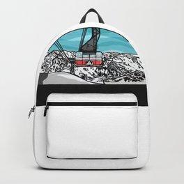 Tram laps Backpack