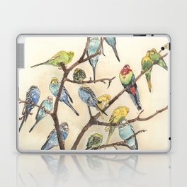 Parakeets Laptop & iPad Skin