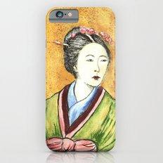 Japanese Woman iPhone 6s Slim Case