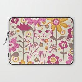 Garden Cat Laptop Sleeve