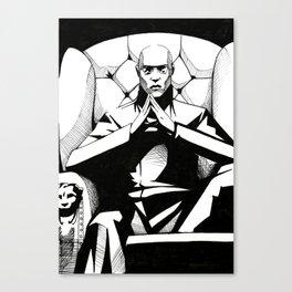 Morpheus Matrix Canvas Print