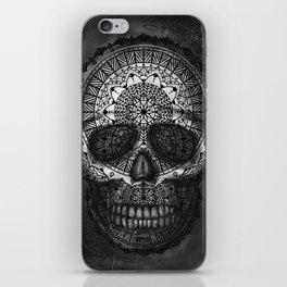 Caveira Mandala iPhone Skin