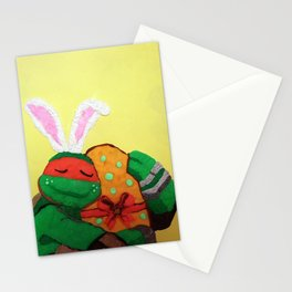 Easter egg and Mikey Stationery Cards