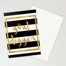 Goal Digger Stationery Cards
