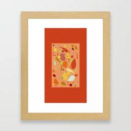 ORANGE Framed Art Print