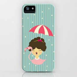 Miss Cupcakes iPhone Case