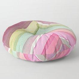 Pivot in Dahlia Garden Floor Pillow