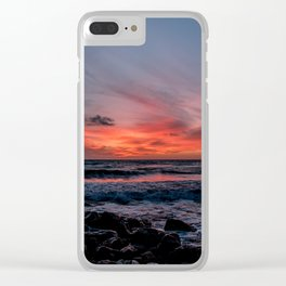 Golden Bay Clear iPhone Case