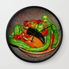Spicy havest Wall Clock