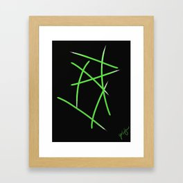 Blades of Grass Framed Art Print