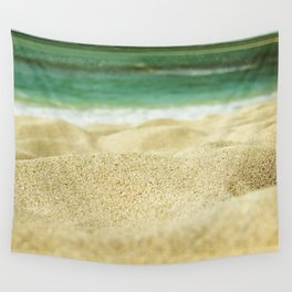 Sunset Beach Wall Tapestry