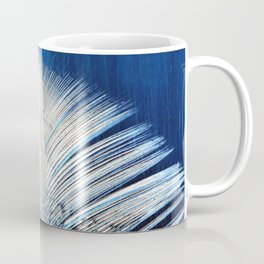 Feather | Feathers | Spiritual | White and Blue Feather | Nature Coffee Mug