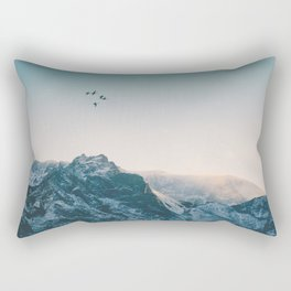 Evening Flight Rectangular Pillow