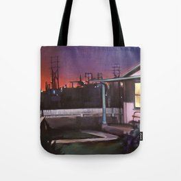 Pink House VACANCY zine Tote Bag