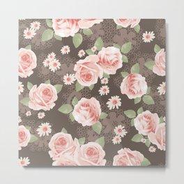 Flowers seamless patterns 26 Metal Print