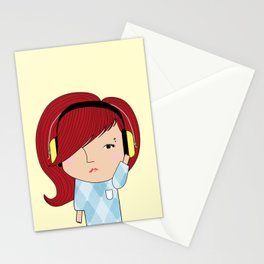 Mss Musical Stationery Cards