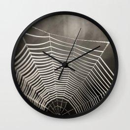 SPIDERWEB TRAVELS Wall Clock