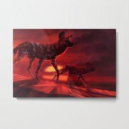 Dawn of the Hunter Metal Print