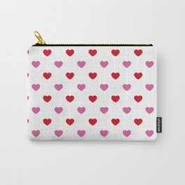 wild_at_heart Pink Carry-All Pouch