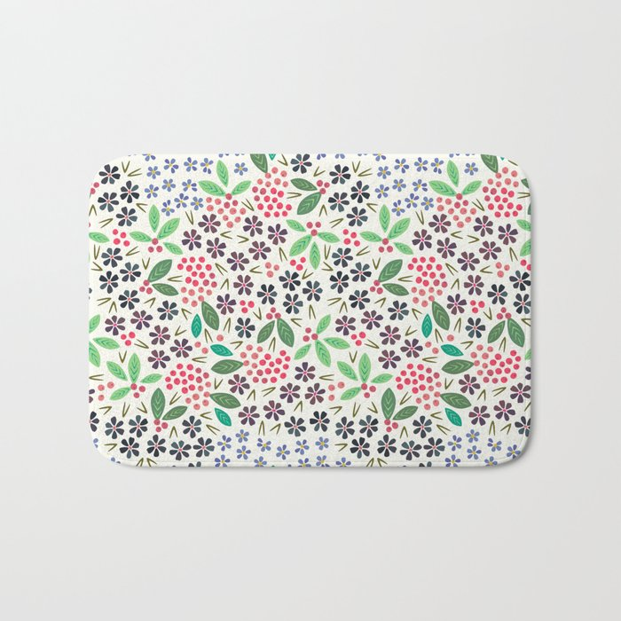 Rowan Berries Bath Mat
