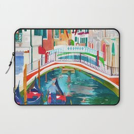 Canal in Venice Laptop Sleeve