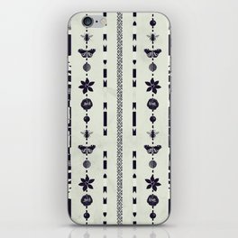 DG Floral Pattern 1 iPhone Skin