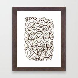 Dot Cluster 4 Framed Art Print