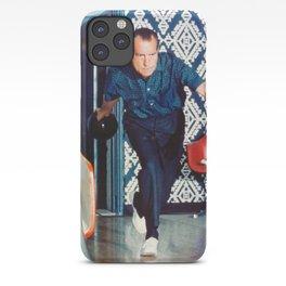 Richard Nixon Bowling iPhone Case